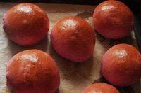 булочка розовая мини