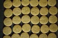 расплываемость заготовок для песочного печенья